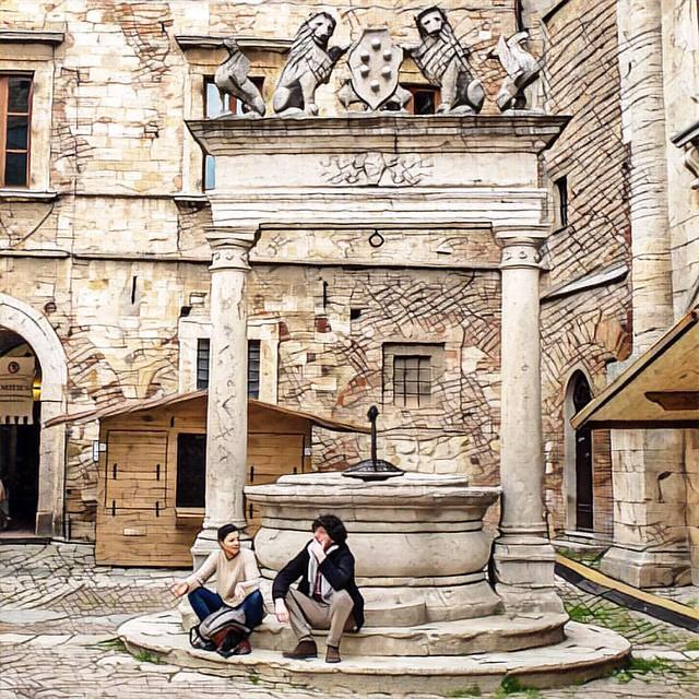 Монтепульчано #италия #italy #tuscany #my_love_italy #montepulciano  #prisma #prismaru #prismainsta #prismaart