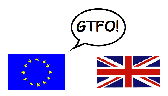 EU to UK: GTFO!