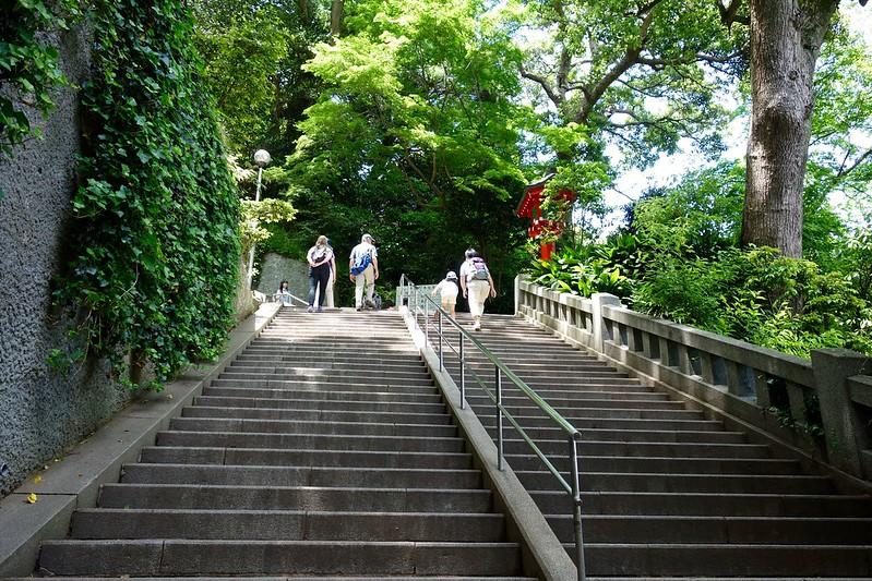 江島神社の階段