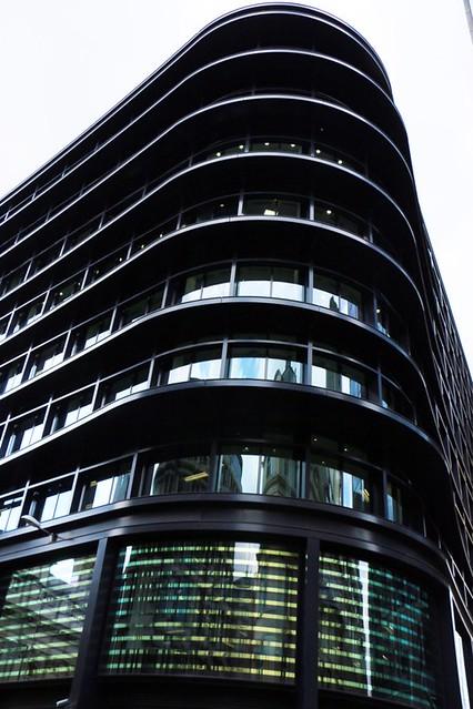 La city di Londra: modernismo londinese