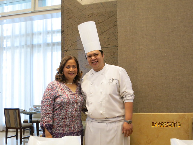 IMG_5904: Madrid Fusion Vien Cortes and Chef Luis Chikiamco in Tapenade