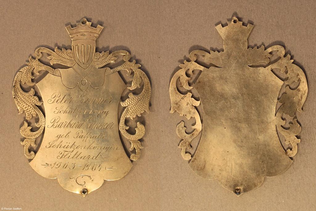 Koenigsschild Flittard von zimmer peter aus dem Jahr 1903
