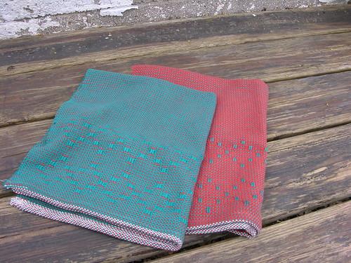 diamond tea towels