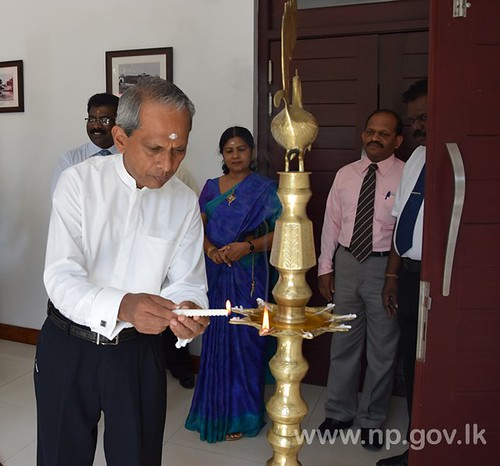 Sinhala & Tamil New Year celebrated at Governor's Secretariat
