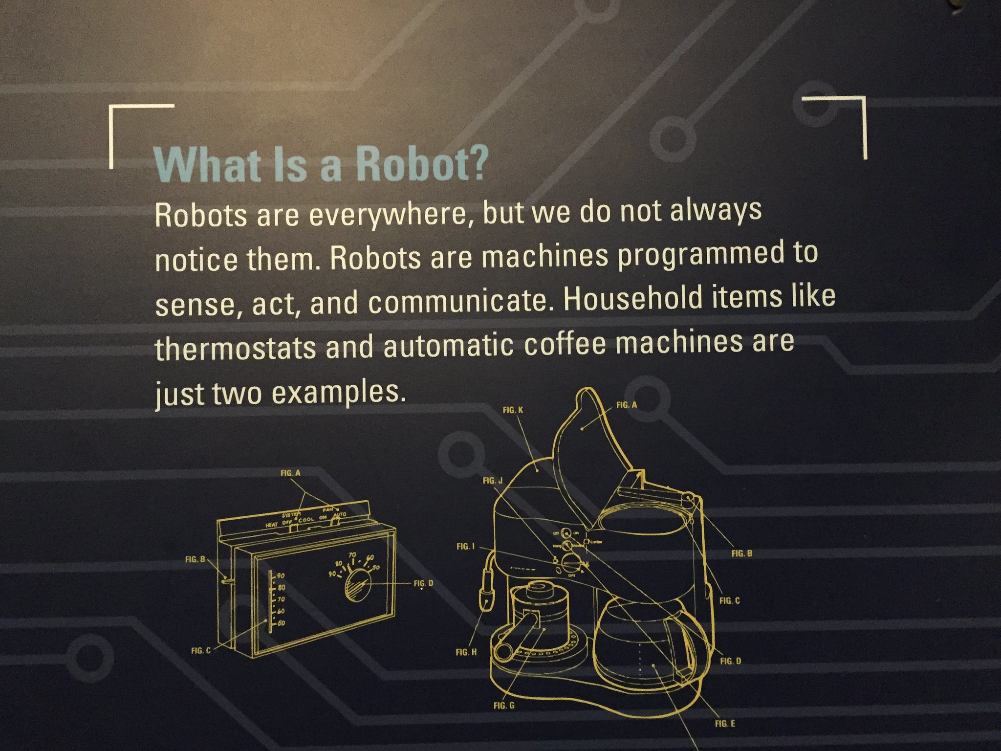 Definition of what a robot is