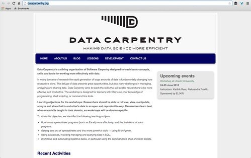 Data Carpentry