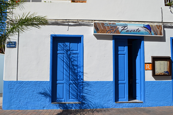Restaurant, Vueltas, Valle Gran Rey, La Gomera, Canary Islands