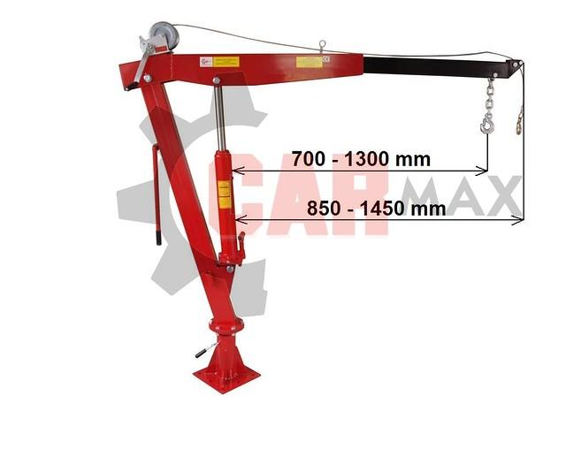 Żuraw hds 900kg duży 5