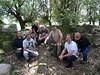 La fine équipe des archéologues de San Cesariu