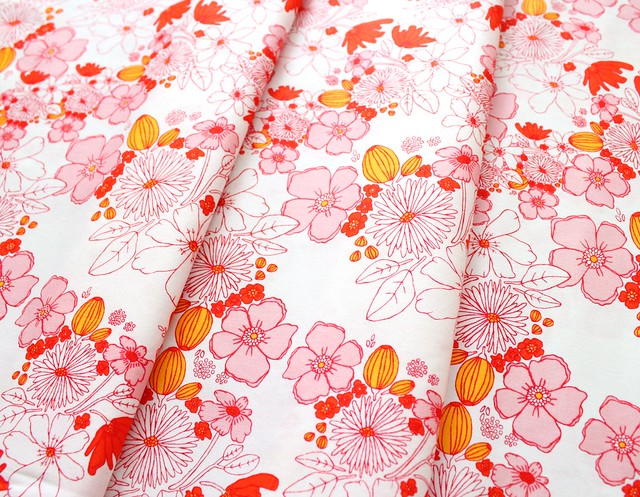 Art Gallery Fabrics Meadow Lea's Bloom Blush