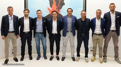 Catania: presentato il nuovo staff tecnico$