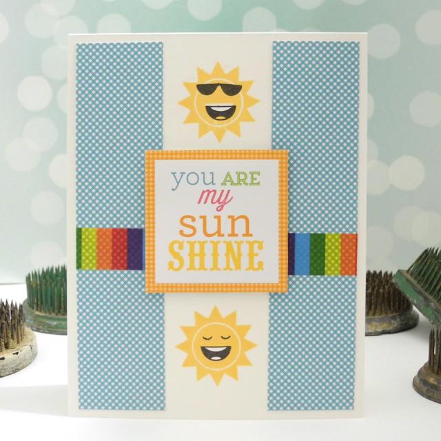 You Are My Sunshine by Jennifer Ingle #justjingle #simonsaysstamp #simonsaysck #diy #cards