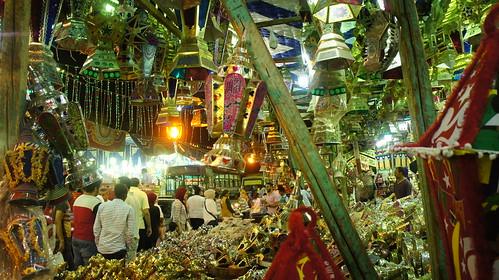 At El-Sayida Zeinab Ramadan market