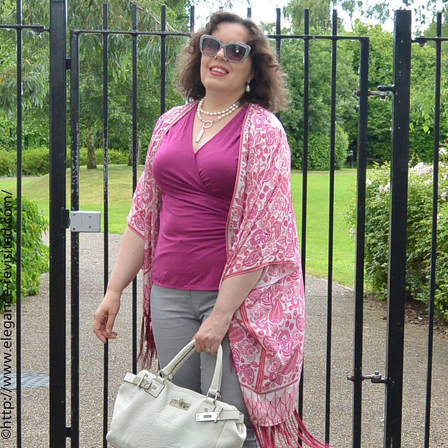 wearing boho chic over 40