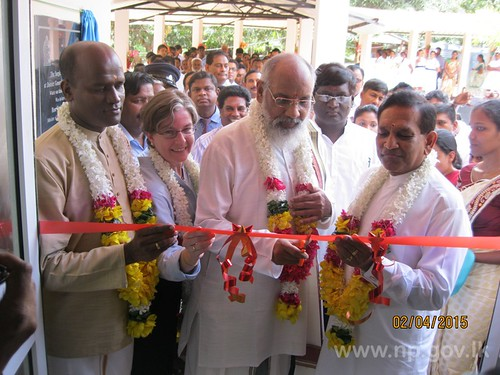 Opening ceremony of New Surgical Ward Complex at Mullaitivu DH – 02 April 2015