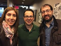 Mariel, Fede y Ismael Faro