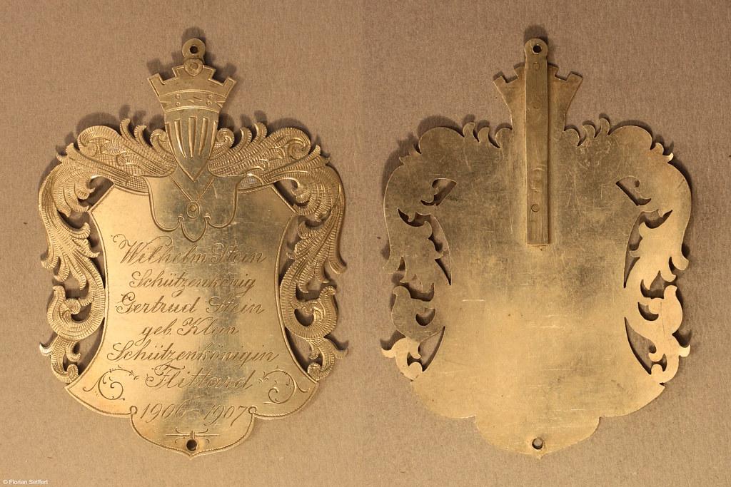 Koenigsschild Flittard von stein wilhelm aus dem Jahr 1906