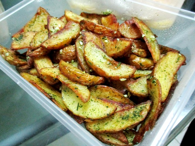 Potato wedges from Payung