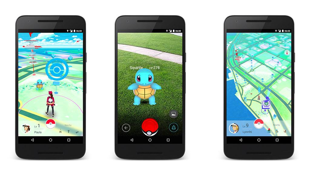 Pokemon Go Screen Plan