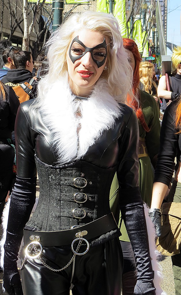 Calgary Expo  Black Cat