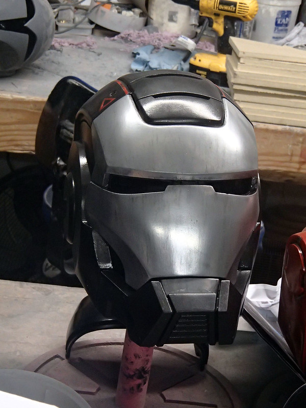 War Machine Helmet Weathered