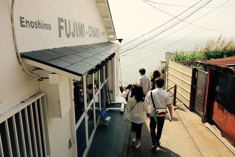 江の島フジミチャヤ(FUJIMI-CHAYA)前