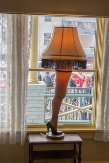 leg lamp 02 - A Christmas Story House - 2014-11-28 by Tim Evanson