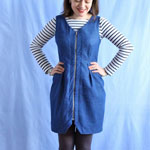 Denim Yoyo Dress