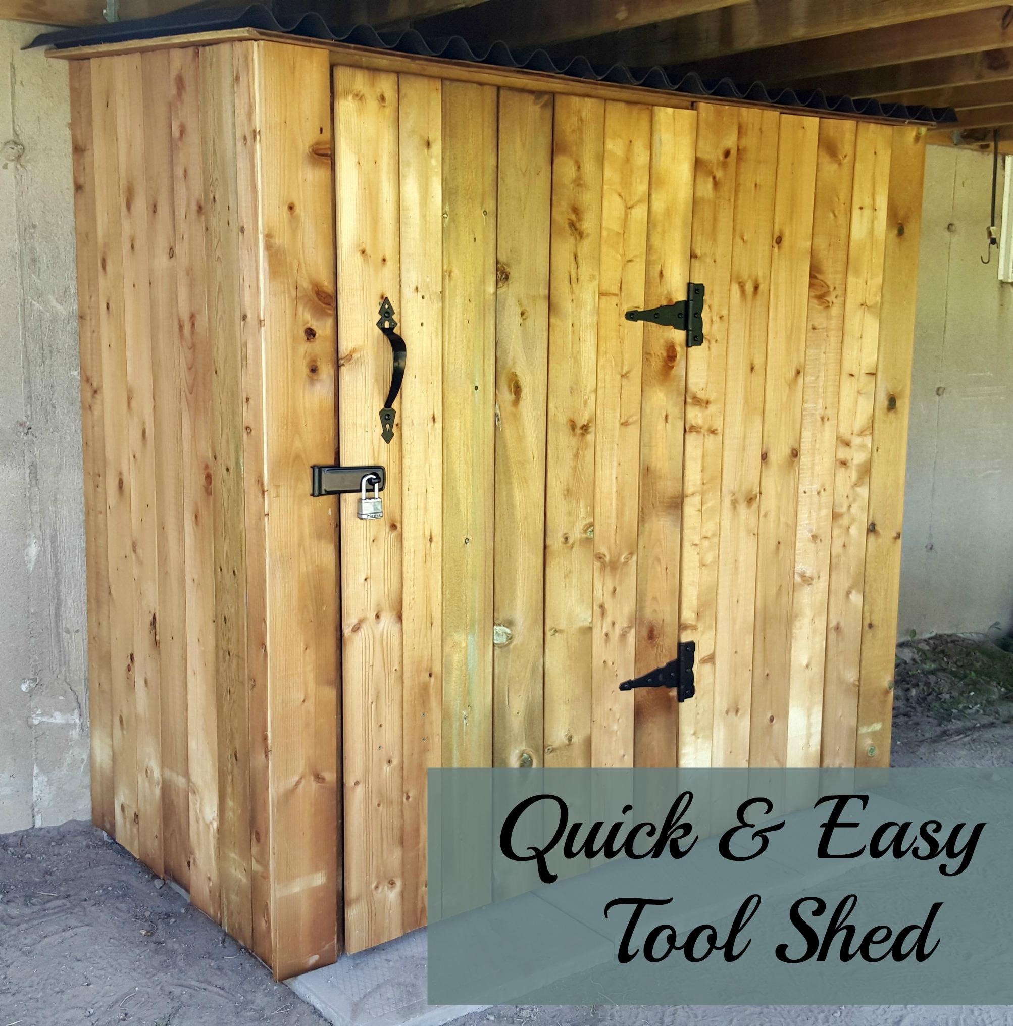DIY Tool Shed