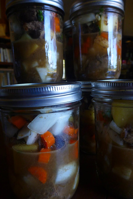 Canning Venison Stew