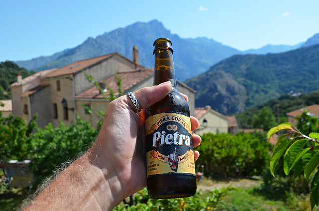 Chestnut beer, Olmi Cappella, Corsica