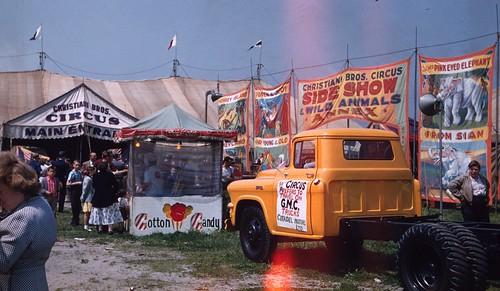 Christiani Bros. Circus, 1956