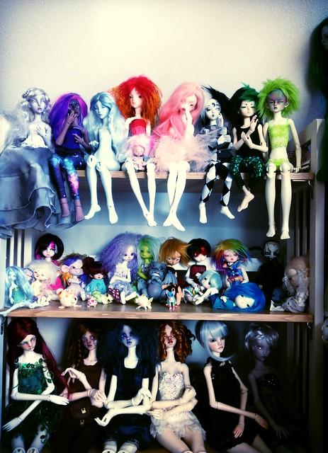 """[30 dolls et +] """"Culpabilité"""" d'avoir de nombreuses dolls? 17427466982_4292e4ebfc_z"""