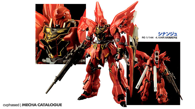 RG Sinanju - Colored Prototype Shots