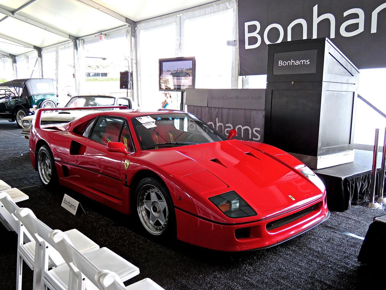 Ferrari F40 Greenwich Bonhams