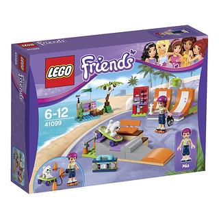 LEGO Friends 2015: 41099 - Heartlake Skate Park