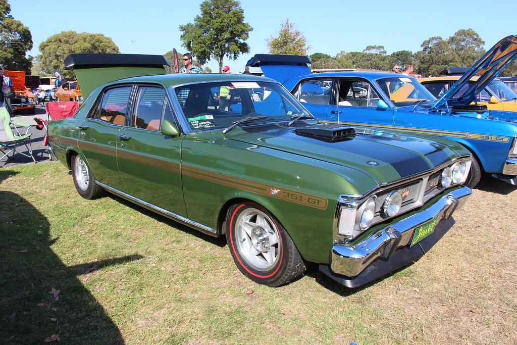 1971 Ford Xy Falcon Gt Sedan Jewel Green The Xy Falcon