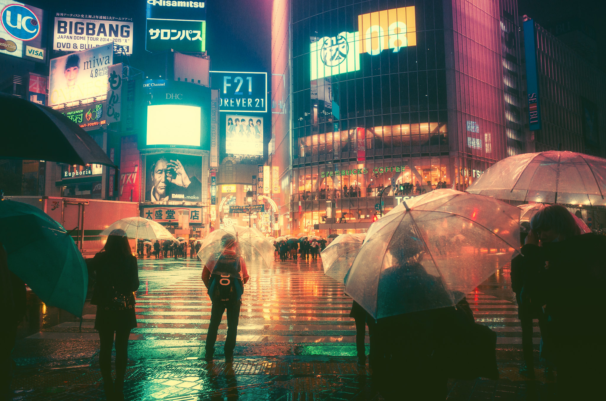 A Rainy Night In Tokyo 1600x1060 Wallpapers
