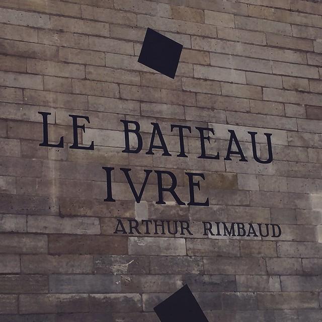 Rimbaud, le bâteau ivre