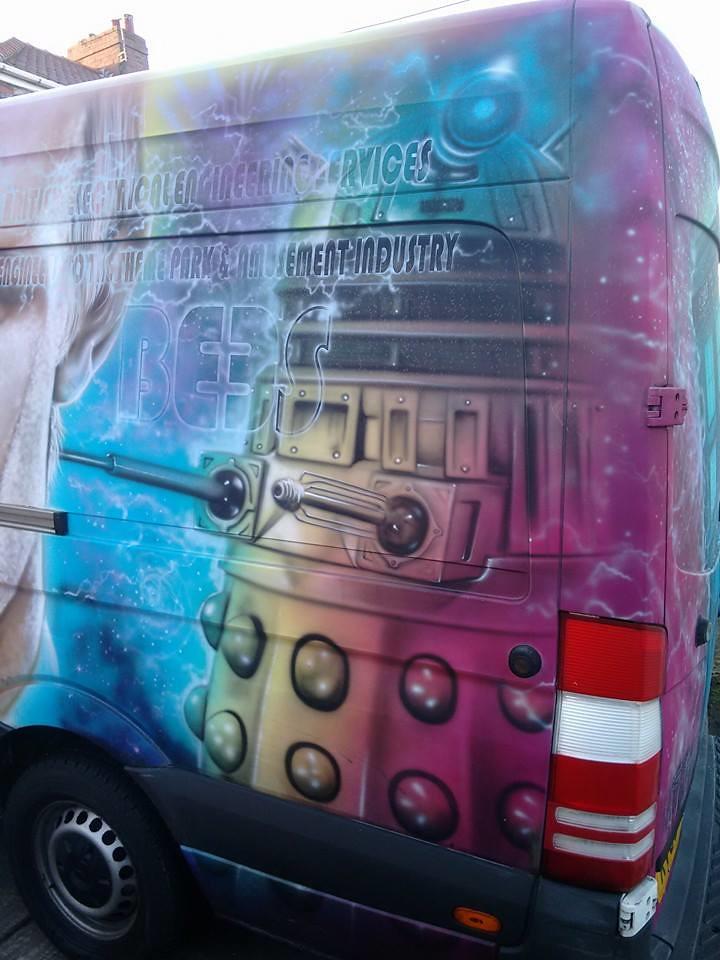 Doctor Who Van Dalek