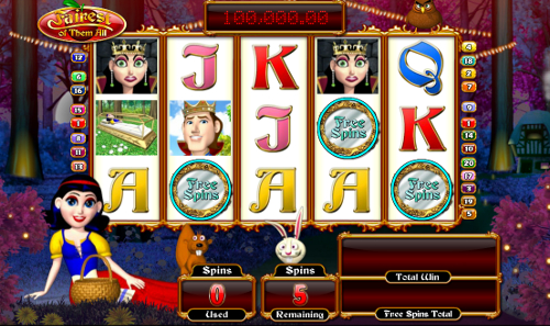free Fairest of Them All slot Free Spins