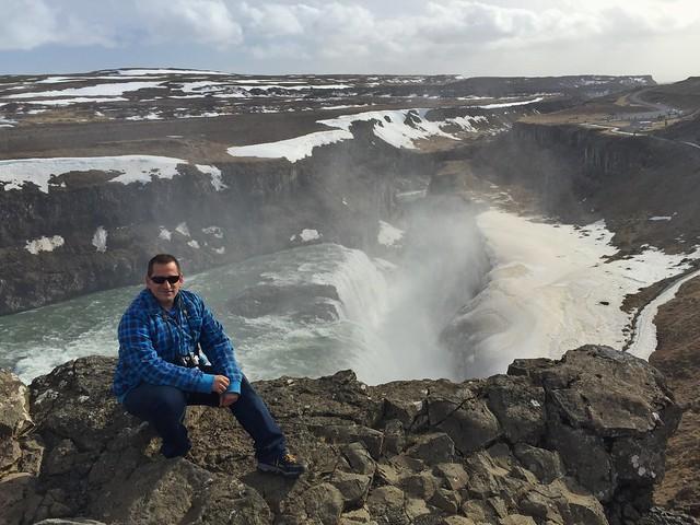 Sele en Gullfoss (Islandia)