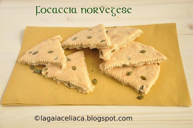 focaccia norvegese gluten free
