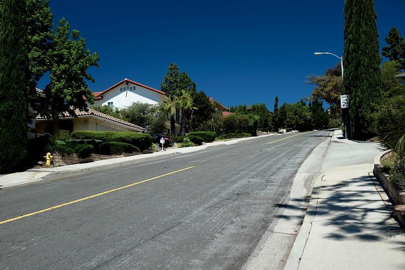 steep pine cone road
