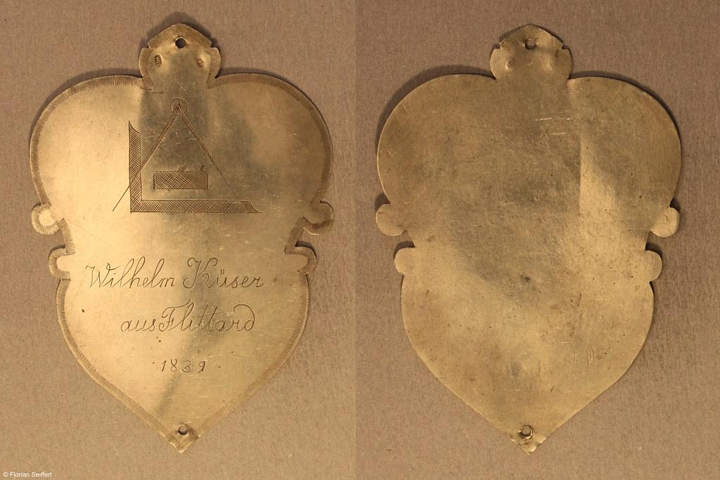 Koenigsschild Flittard von kueser wilhelm aus dem Jahr 1839