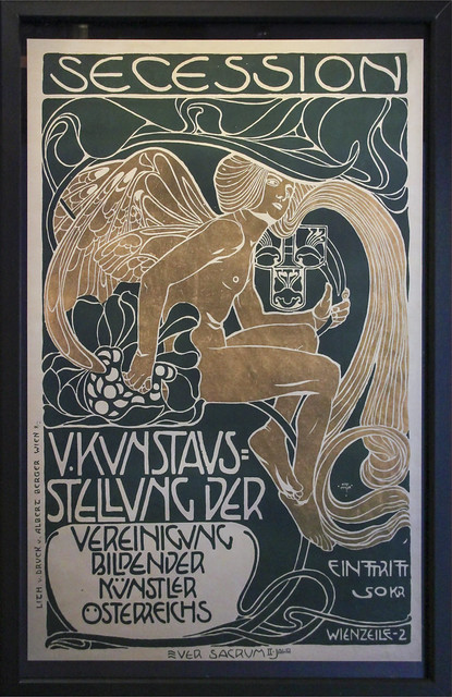 Kolman Moser, Secession, 5th Art Exhibition of the Association of Visual Artists of Austria, Vienna 1899
