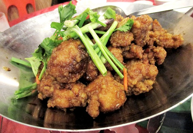 Tung Seng three-cup-wine chicken
