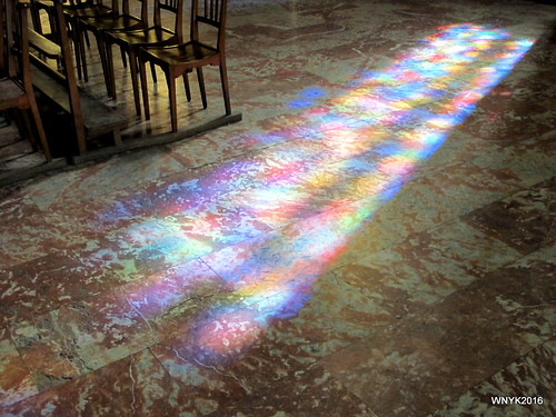 Sunlight Through Stained Glass