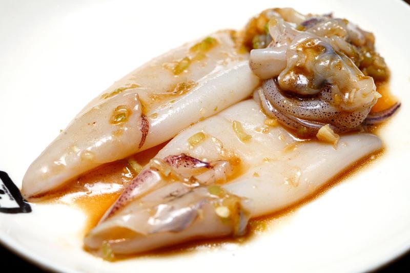 Gyukaku Japanse BBQ Squid