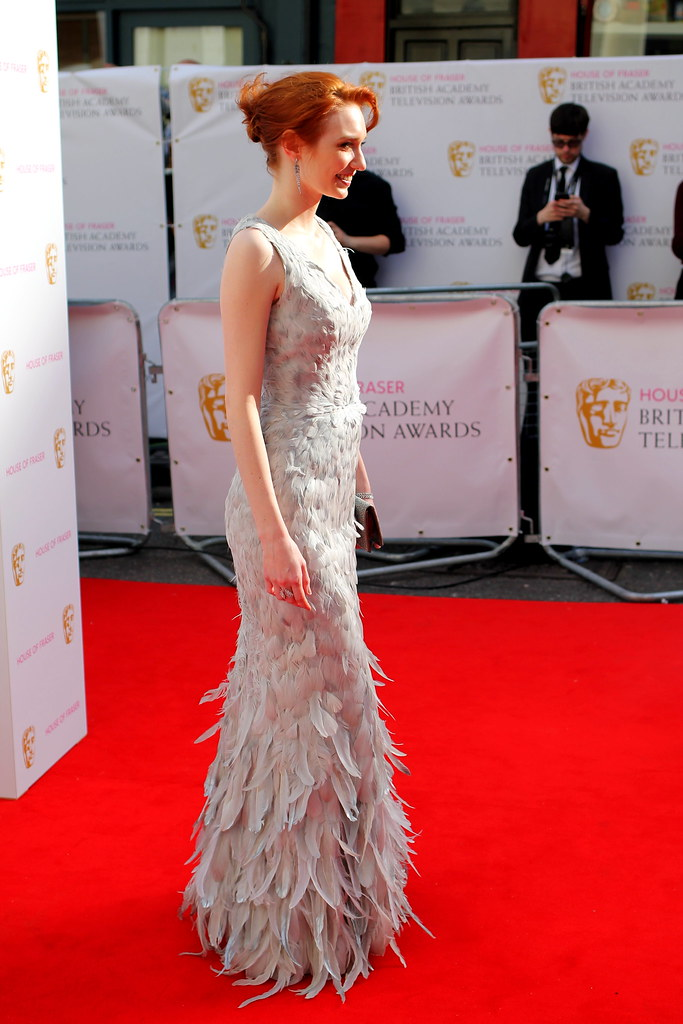 BAFTA Red Carpet 2015 (23)